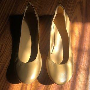 J. Crew Tan Ballet Flats size 7.5